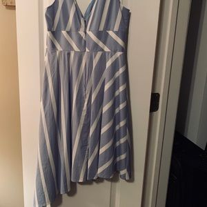 Anthropologie Striped Sun Dress